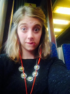 Awkward Train Selfie